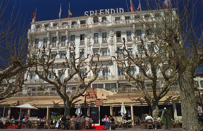 The Splendid Hotel In Cannes