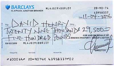 Writing a cheque uk barclays login