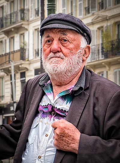 A candid picture taken by a photography workshop participant in Paris.