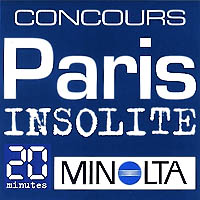 Minolta's logo/graphic for their photo contest in 2004 in Paris.